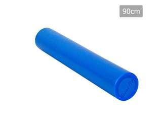Yoga Gym Pilates EPE Stick Foam Roller Blue 90 x 15cm