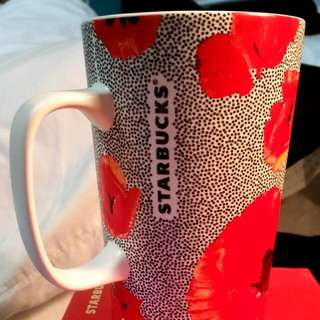 Starbucks Poppy Mug W/ Giftbox