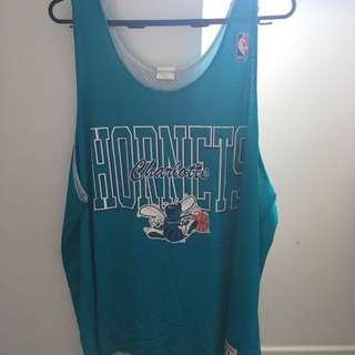 Reversible Charlotte Hornets Singlet