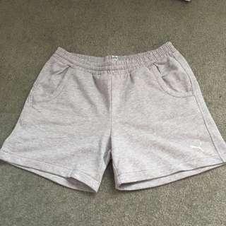 Grey Puma Shorts