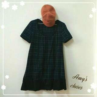 NET日系棉麻短袖洋裝