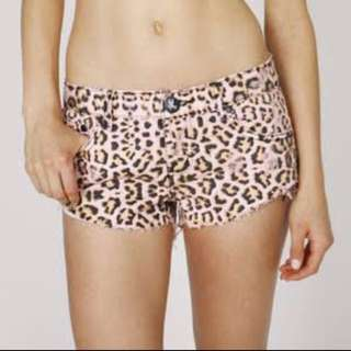 One Teaspoon Desert Cat Shorts