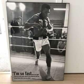 Muhammad Ali Plaque