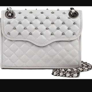 Rebecca minkoff mini quilted affair studded
