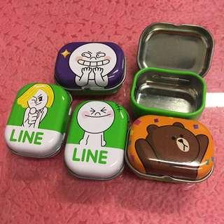 包郵 LINE小鐵盒