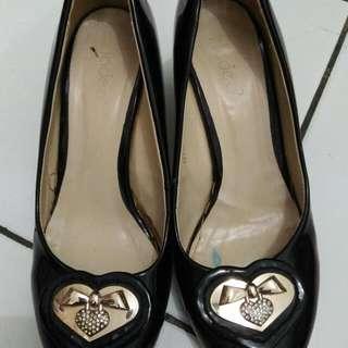 Black Heels Fladeo Size 36