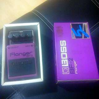 BOSS FLANGER ( BF-2) MADE IN JAPAN