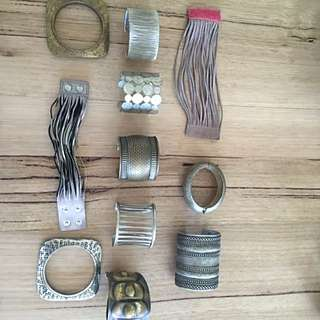Collection Of Cuffs From Around The World