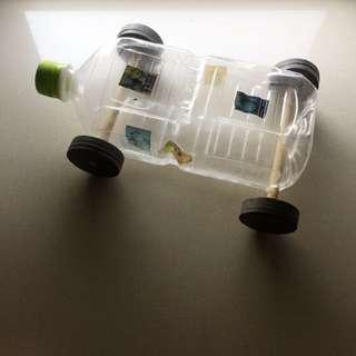 Handmade Movable Toy Car 自家製可活動玩具車