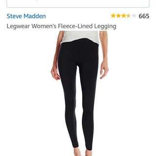 Steve Madden Fleece Lined Leggings