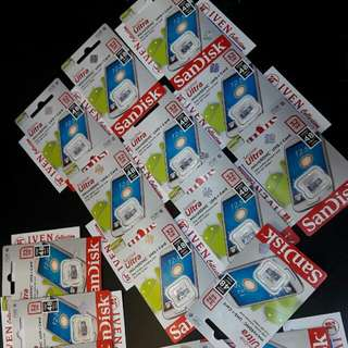 Sandisk MicroSD 32 GB SPEED 48 Mb / S Memory Card Memori 32gb Memorycard