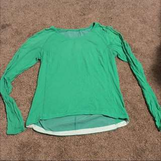 Lululemon Long Sleeve Run Top