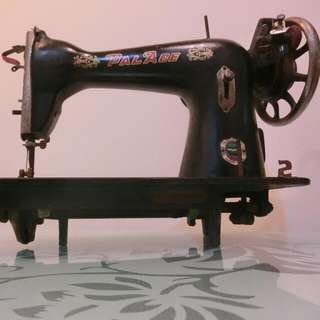 (懷舊風)✔老裁縫機✔(黃宮牌)