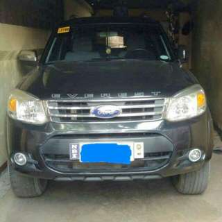 "FOR HIRE  ""FORD EVEREST"""