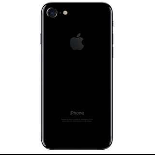 BNIB Iphone 7 Jet Black 258gb