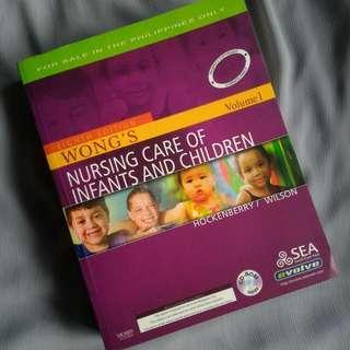 Wong's Pediatric Nursing Book Vol. 1 &2