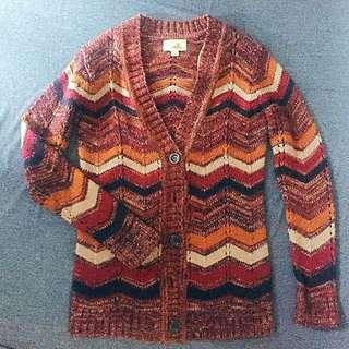 Forever 21 Long Knit Cardigan (Preloved)
