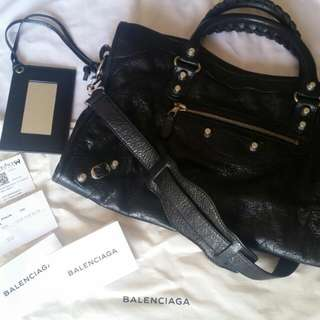 Balenciaga Giant Silver City