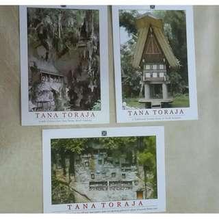 Tana Toraja Postcard / Kartu Pos Indonesia
