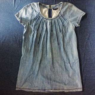 Topshop Denim Tunic / Mini Dress (Preloved)