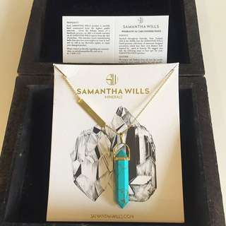 Samantha Wills Turquoise Mineral Necklace
