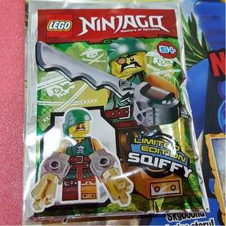 Lego Ninjago Magazine Limited Edition Sqiffy