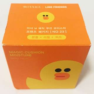 MISHHA & LINE Friends Magic Cushion Moisture