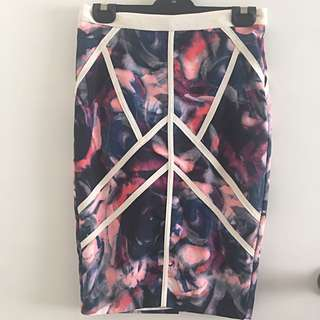 Sheike Floral Skirt Size 8