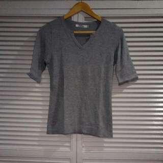 Calico Gray Shirt 3/4