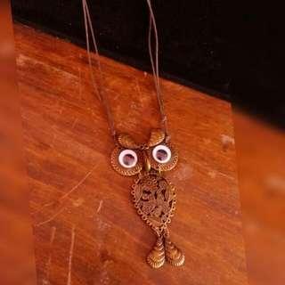 Kalung Owl Besar