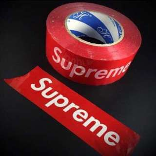 現貨 Supreme封箱膠帶 膠布 貼紙
