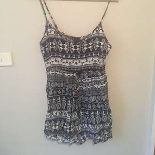 Patterned Play Suit