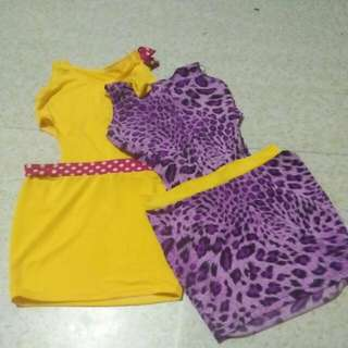 2 mini sexy dress for 50.00  😍