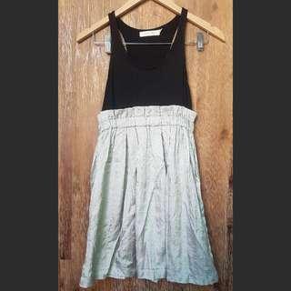 Minkpink Silver Shirt Dress Size 8