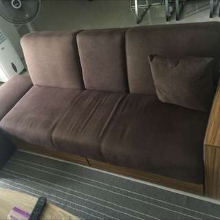 Sofa Bed Set - Used One Month only