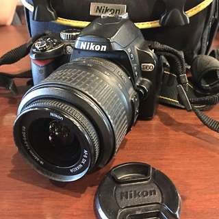 ❤Pre-Loved❤Nikon D60 DSLR Camera Kit