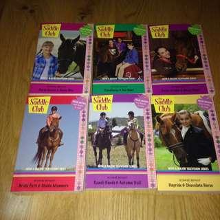 Saddle Club Season 3 Books