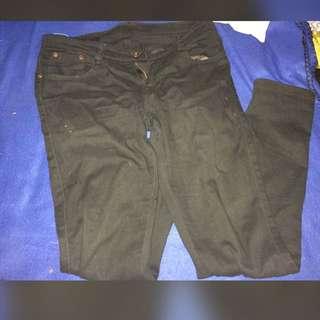 Skinny Black Pants
