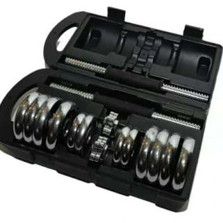 Adjustable York Dumbell Set 15kg !