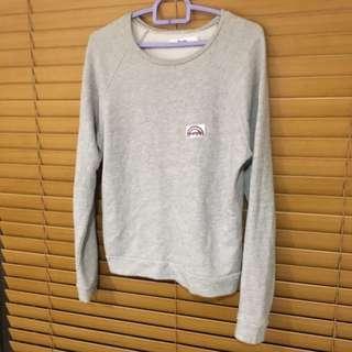 WRANGLER Marle Grey Sweatshirt