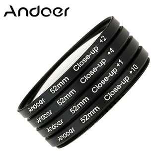 Cheap! Andoer Close-Up Filter 52mm Thread