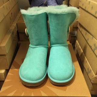UGG雪靴(Tiffany 綠)