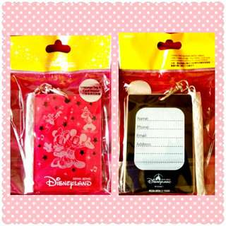AUTHENTIC DISNEY Luggage Tag and Card Holder