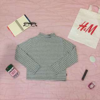 Stripes Croptee