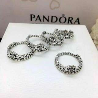 Authentic Pandora My Princess Tiara Ring