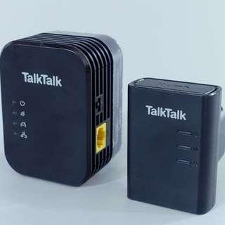 Homeplug D-Link DHP-W310AV內置wifi版 powerline 電力貓 9成新 Powerline 電力網絡 1對$200 cctv盒子