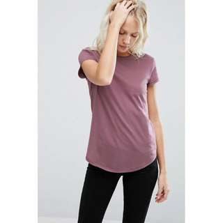 ASOS The Ultimate Crew Neck T-Shirt - Berry Colour/ UK8