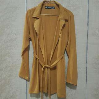 ON SALE !! NEW MOSMAZE MUSTARD OUTER