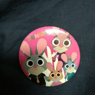 Zootopia Official Disney Badge