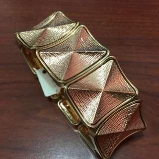 BNWT Rose Gold/Gold Bracelet